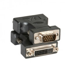 Преходник DVI F - HD15 M Roline Adapter 12.03.3110