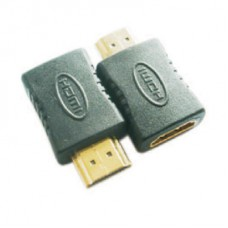 Преходник Mini HDMI M - HDMI F Adapter VCOM CA316