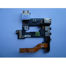 Платка Аудио Dell Latitude E6500 USB Audio LAN Board LS-4051P