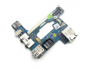 Платка Аудио Dell Latitude E6510 M4500 USB Audio LAN Board LS-5572P