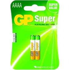 Батерия 1.5V Super Alkaline LR61 AAAA GP Battery