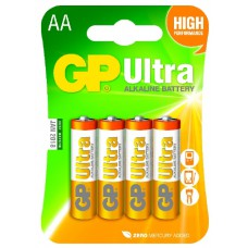 Батерия 1.5V Ultra Alkaline LR6 AA GP Battery