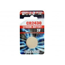 Батерия 3V CR2430 Lithium Battery Maxell