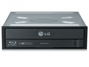 DVD-RW LG BH16NS55 Internal Blu-ray Rewriter SATA