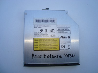 DVD-RW Philips DS-8A2S Acer Extensa 4130 SATA