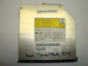 DVD-RW Sony Nec AD-7530A Acer TravelMate 7514 IDE