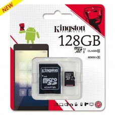 Flash Card Kingston MicroSDHC Card 128GB Class10