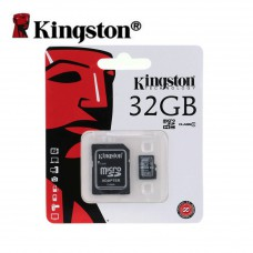 Flash Card Kingston MicroSDHC Card 32GB Class10