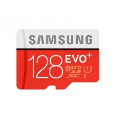 Flash Card Samsung 128GB micro SD Card EVO+ with Adapter MB-MC128DA/EU