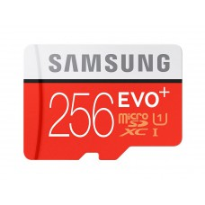 Flash Card Samsung 256GB micro SD Card EVO+ with Adapter MB-MC256DA/EU
