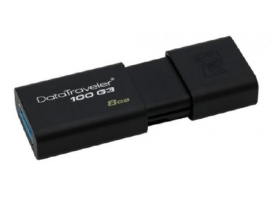 Flash Drive Kingston DT100G3 8GB Data Traveler 100 Gen3 USB3.0