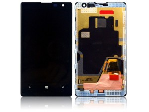Дисплей за смартфон Nokia Lumia 1020 LCD with touch and frame Black Original