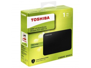 HDD External Toshiba 1TB Canvio Basics Black HDTB410EK3AA