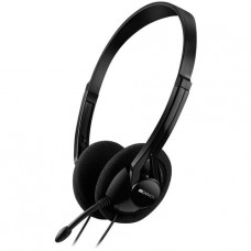 Слушалки Canyon Headset Black CNE-CHS01B