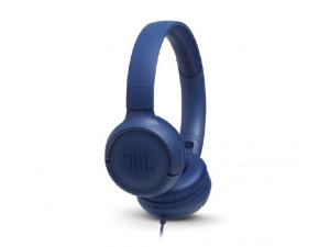 Слушалки JBL T500 BLU Headphones JBLT500BLU