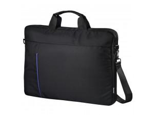 """Чанта за лаптоп Hama Cape Town Black-Blue 101907 Laptop Bag 15.6"""""""
