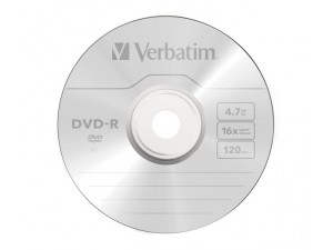 Media DVD-R Verbatim 4.7GB 16x 120min