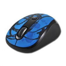 Mouse Delux DLM-130GB-G01UF Wireless Black/Blue USB