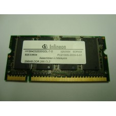 Памет за лаптоп DDR 256MB PC-2100S Infineon