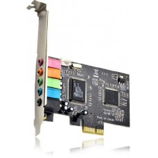 Звукова карта Sound Card C-Media 8738 PCI-E 6-Channel