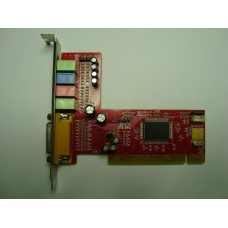 Звукова карта Sound Card C-Media CM8738 4-Channel PCI