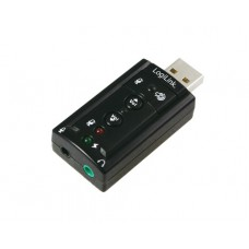 Звукова карта Sound Card LogiILink UA0078 USB to AUDIO 7.1