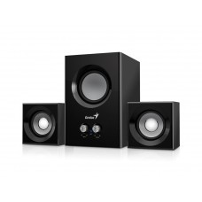 Speakers Genius SW-2.1 375 12W Wood Black