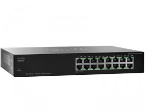 Switch Cisco SG100-16 16-Port Gigabit Суич