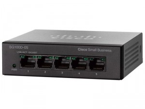 Switch Cisco SG100D-05-EU 5-Port Gigabit Desktop Суич