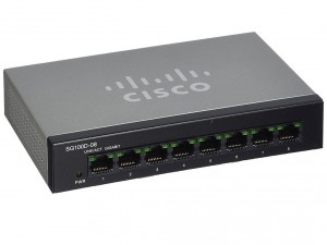 Switch Cisco SG100D-08P 8-Port PoE Gigabit Desktop Суич
