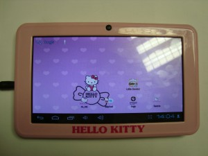 Таблет 7'' Hello Kitty на части