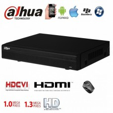 Video Recorder DVR 4CH Dahua HCVR4104-S2 Хибриден видеорекордер 4 канален